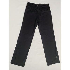 Tuff Athletic black yoga mid-rise pants